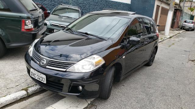 Nissan tiida sl 1.8 com teto 2008 leilao leia a descrição do anúncio