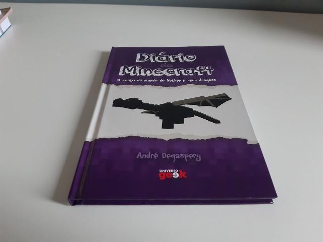 """Livro """"Diário de Minecraft"""""""
