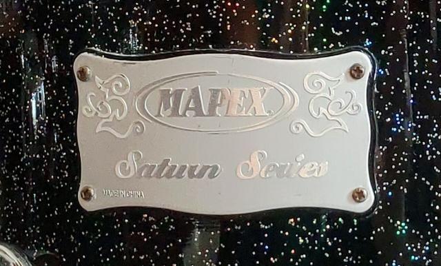 """Bateria Mapex Saturn/ R$3.850,00 à vista/ 10""""/14""""/16""""/22""""/ Shell Pack 4 pçs - Foto 4"""