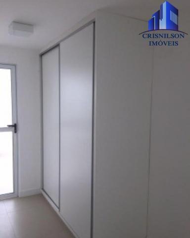 Casa à venda condomínio alphaville i salvador, decorada, 4 suítes, r$ 2.500.000,00, piscin - Foto 17