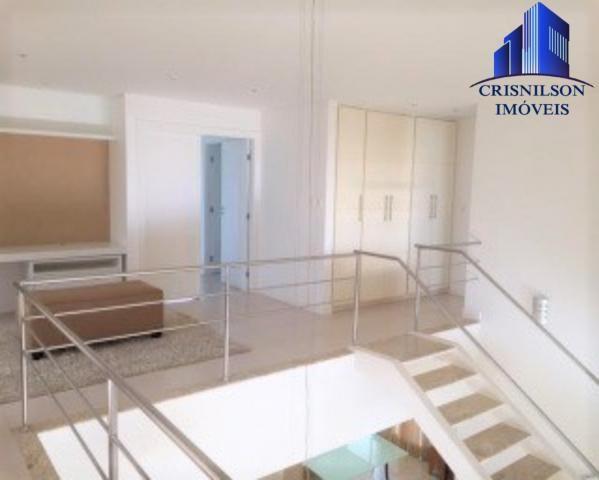 Casa à venda condomínio alphaville i salvador, decorada, 4 suítes, r$ 2.500.000,00, piscin - Foto 10