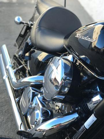 Honda Shadow 750 spirit 2011. Último modelo