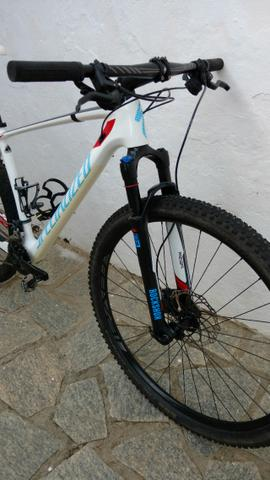 2015 Specialized Stumpjumper Carbono pouquíssimo uso top bike - Foto 4