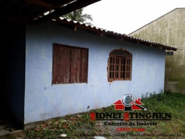 Casa em boa localização, necessitando reforma, em bal. barra do sul - sc. - Foto 2