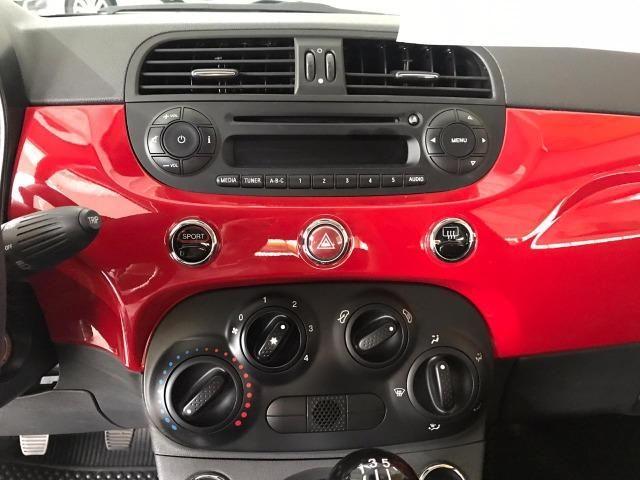 Fiat 500 Cult 1.4 Evo Flex 2015 38 mil km (Sport) - Foto 12