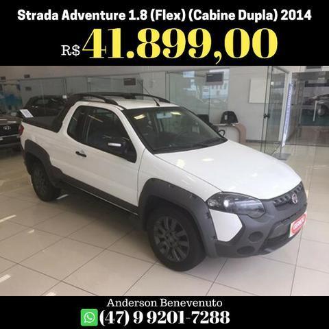 Fiat Strada Adventure 1.8 16V (Flex) (Cabine Dupla) 2014