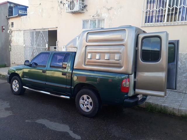 S10 2002 Capota de Fibra - Foto 2