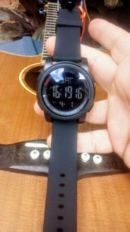 4a7a880f640 Relógio Masculino Original Skmei 1257 Militar 100% à Prova D  Água Digital