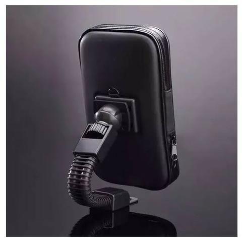 Suporte Case Para Moto Retrovisor Impermeável Galaxy S8+ - Foto 4
