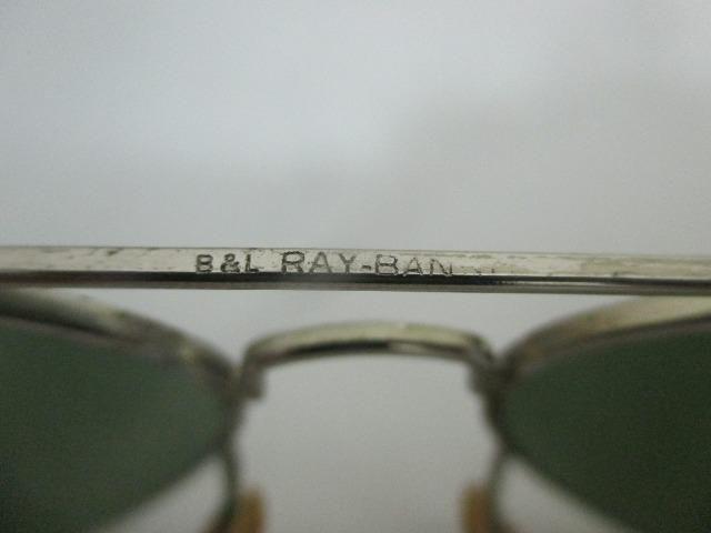 6920d60e1 Óculos rayban aviador antigo com case peça vintage anos 1980 - Foto 5