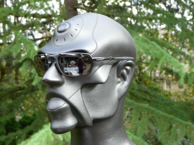 6c76f37aa Óculos Oakley X-Metal Badman Dark Carbon Black Polarizado - Importado e Novo