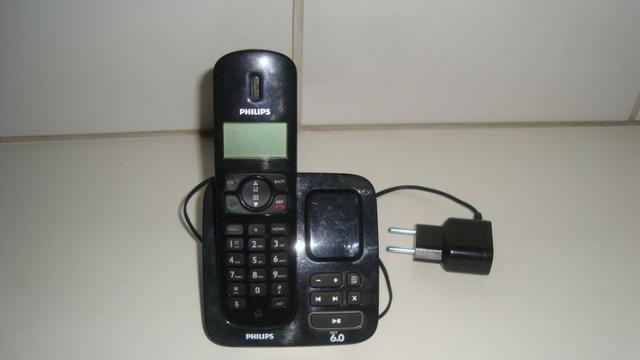 Telefone sem fio philips com secretária