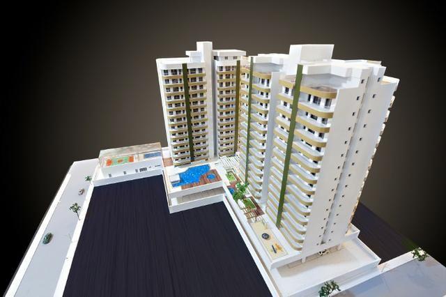 Apartamento Flat no Guarujá, 55m2 , Varanda Gourmet, Mobiliado! - Foto 8