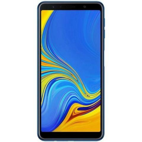 """Smartphone Samsung Galaxy A7 (2019) SM-A750gn LTE Dual Sim 6.0"""" 128GB/4GB - Blue - Foto 3"""