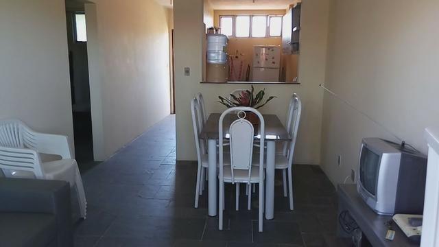 Apartamento Barra de São Miguel, 2 quartos c/ ar condicionado, varanda e piscina