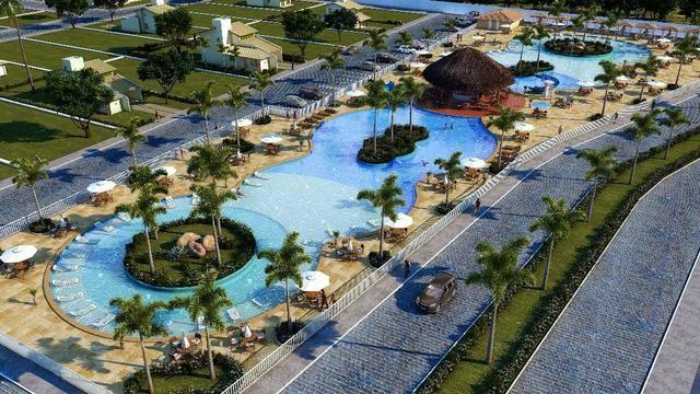 Terrenos parcelados em Condomínio Fechado no Beach Plaza na Praia de Lucena