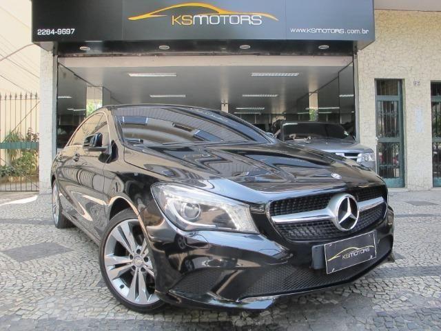 Mercedes CLA 200 First Edition com Teto Solar Elétrico Led's Bi-Xenon GPS Muito Novo 2014