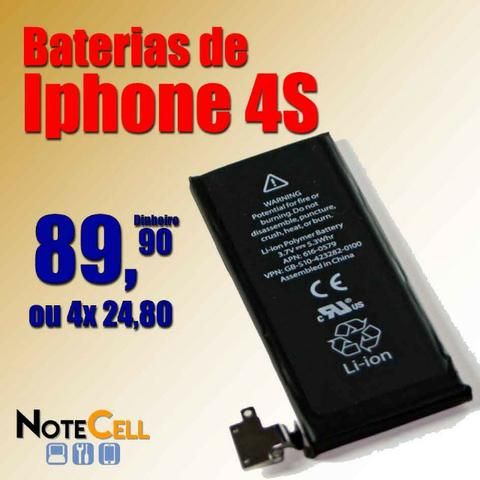 Baterias do Iphone 4s