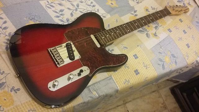 Guitarra Telecaster Squier Antique-Burst - Foto 2