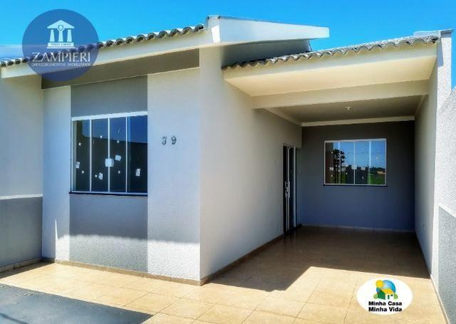Casa Nova com 63 m² no Jardim Maranata em Iguaraçu, PR - Foto 2
