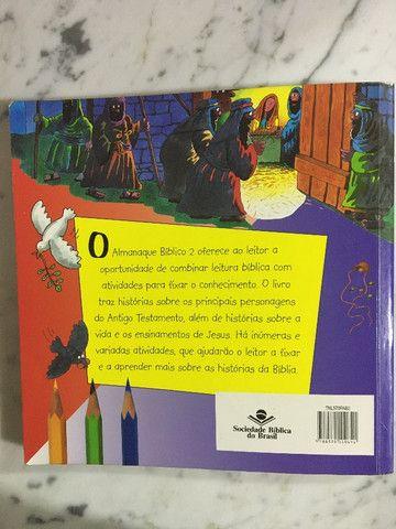 Almanaque Bíblico 2. Infantil usou pouco R$10,00 C. Frio - Foto 6