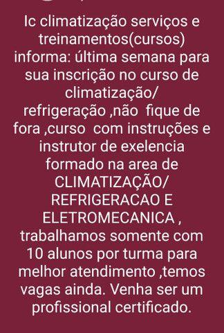 Curso de Climatização e Refrigeração