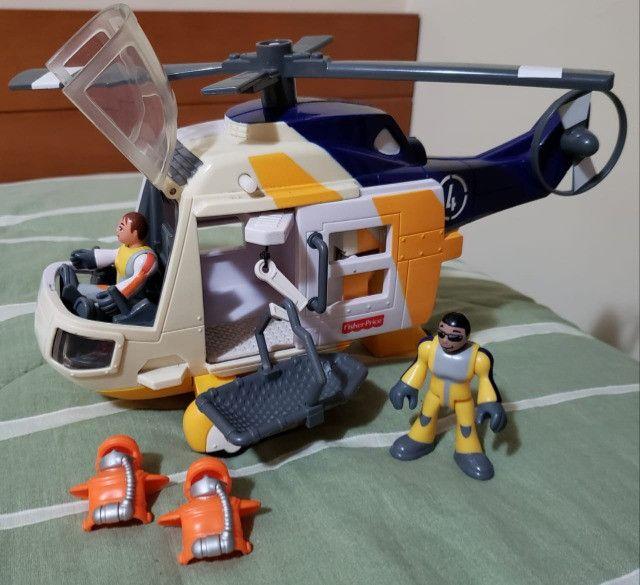 Imaginext submarino e helicóptero - Foto 3