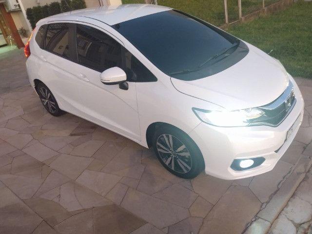Honda Fit EXL 2019 unica dona Igual a zero - Foto 4