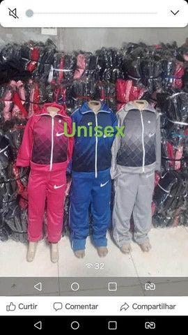 Conjuntos infantis. Chimpa flanelado.. Símbolo da Nike - Foto 2