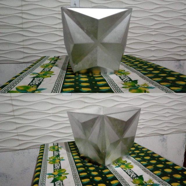 Vasos de decoração 3D - Foto 4