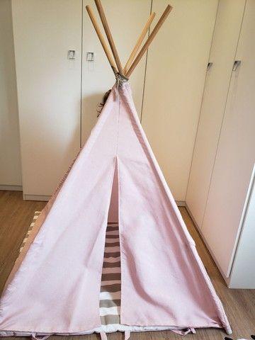 Cabana infantil decorativa rosa - Foto 3