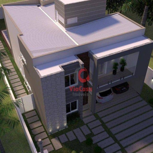 Casa com 4 Quartos Sendo 3 Suítes à venda, 220 m² por R$ 890.000 - Extensão do Bosque - Ri - Foto 13
