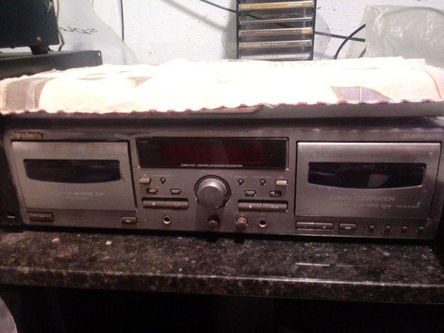 Tape Deck Gradiente anos 80