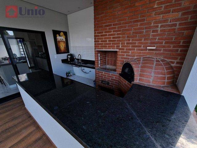 Casa com 3 dormitórios à venda, 207 m² por R$ 1.350.000,00 - Loteamento Residencial e Come - Foto 13