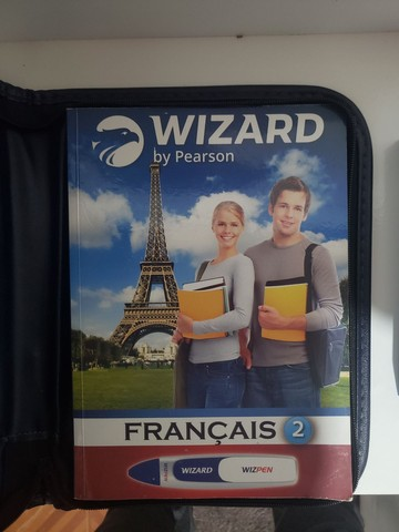 Livro Wizard Francês para iniciantes + Wizpen - Foto 2