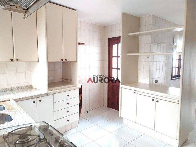 Sobrado com 4 dormitórios para alugar, 370 m² por R$ 5.700,00/mês - Araxá - Londrina/PR - Foto 12