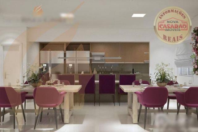Apartamento com 2 dormitórios à venda, 93 m² por R$ 465.000 - Aviação - Praia Grande/SP - Foto 17
