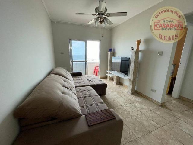 Apartamento com 2 dormitórios à venda, 72 m² por R$ 330.000 - Guilhermina - Praia Grande/S - Foto 2