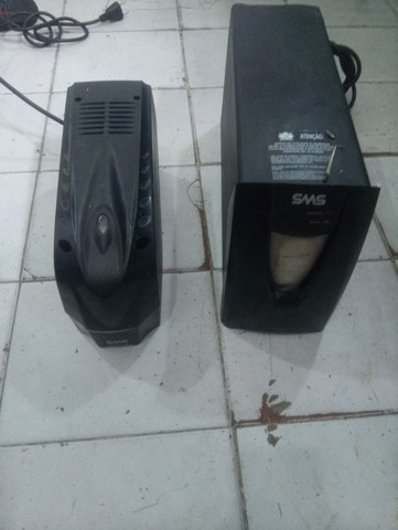 2 Nobreack SMS 1400Wa e 700Wa