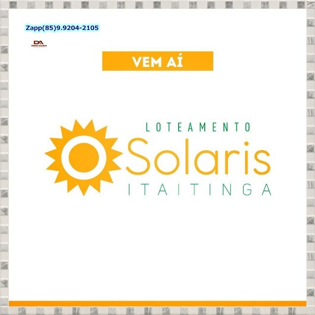 Loteamento Solaris Gererau.!#@! - Foto 3