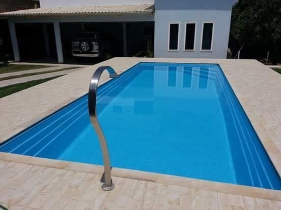 LS - Lazer em família -piscina de fibra 5,60 x 2,90 x 1,10 - Foto 2