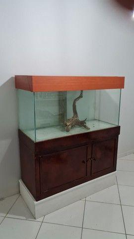 Aquario de 360 litros com móvel  - Foto 4