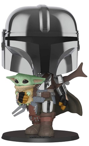Funko Pop: Star Wars Mandalorian With The Child Super Sized 10? #380 - Foto 6