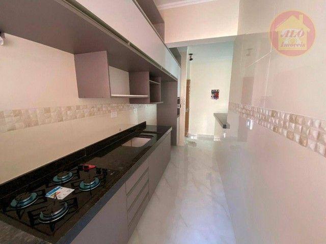 Apartamento com 2 dormitórios à venda, 70 m² por R$ 359.000 - Tupi - Praia Grande/SP - Foto 6