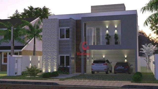 Casa com 4 Quartos Sendo 3 Suítes à venda, 220 m² por R$ 890.000 - Extensão do Bosque - Ri