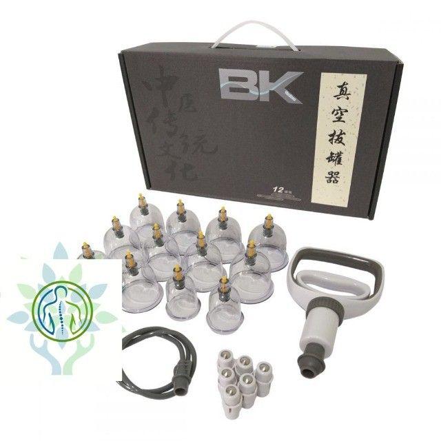 Kit De Ventosa Bk Com 12 Copos + Brinde