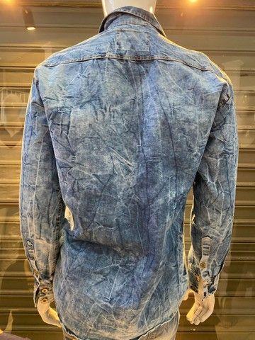 Blusa jeans TAM M  - Foto 2