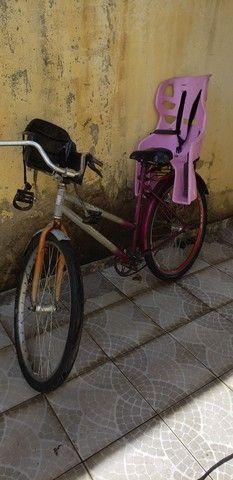 Bike com cadeirinhas