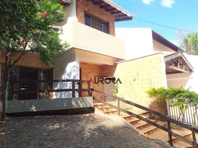 Sobrado com 4 dormitórios para alugar, 370 m² por R$ 5.700,00/mês - Araxá - Londrina/PR - Foto 5