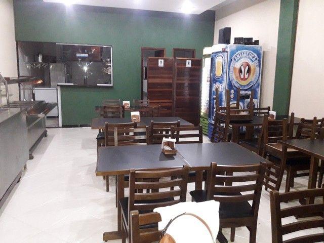 Vendo self service quente e frio e jogos de mesa - Foto 2